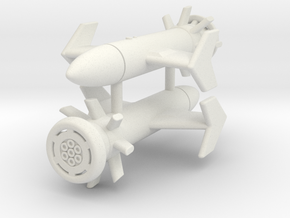 "(1:144) (x2) Sturzbombe ""Pirat-H"" in White Natural Versatile Plastic"
