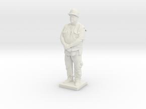 Printle C Homme 1519 - 1/24  in White Natural Versatile Plastic