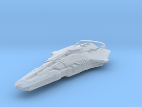 Elite Dangerous Federal Corvette V2 in Smooth Fine Detail Plastic