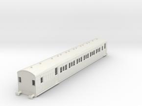 o-87-secr-continental-brake-second-coach in White Natural Versatile Plastic