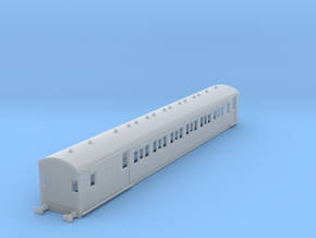 o-148fs-secr-continental-brake-second-coach in Smooth Fine Detail Plastic