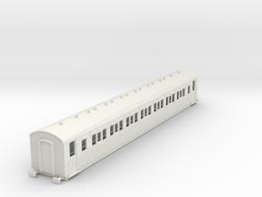 o-87-secr-continental-corr-second-coach in White Natural Versatile Plastic