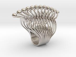 Louna - Bjou Designs in Rhodium Plated Brass