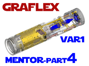 Graflex Mentor - Var1 Part04 - Crystals in Smooth Fine Detail Plastic