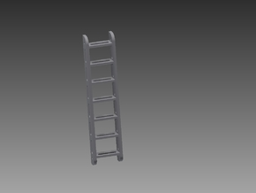Access ladder 1/48 in Smooth Fine Detail Plastic
