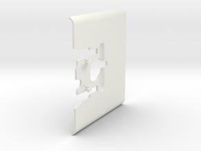 MG08 Armor Shield 1/6th Scale in White Natural Versatile Plastic