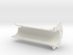 MG08 Barrel Armor 1/6th Scale in White Natural Versatile Plastic