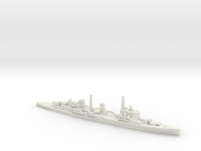 British HMS Belfast in White Natural Versatile Plastic