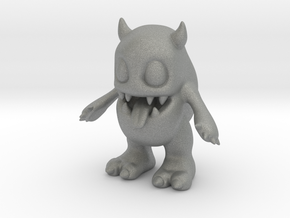Baby Monster in Gray Professional Plastic