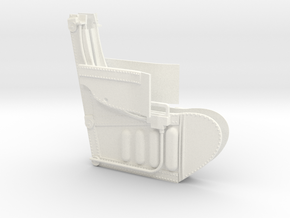 1/4.8 EVACPAC FOR A4 CARF MODEL (C) in White Processed Versatile Plastic