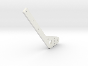 Handbrake Hexacore in White Natural Versatile Plastic