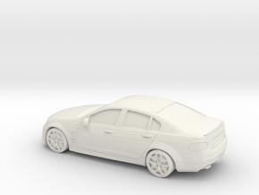 1/87 Holden Commodore in White Natural Versatile Plastic