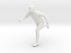 Running-6inch in White Natural Versatile Plastic