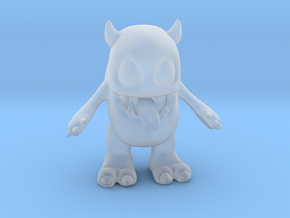 Baby Monster Colored_small in Smooth Fine Detail Plastic