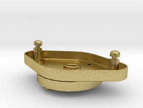 Starterplatte in Natural Brass