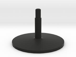 Illusion arrow (stand v2) in Black Premium Versatile Plastic