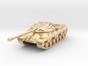 Tank - IS-3 / Object 703 - size Small in 14K Yellow Gold
