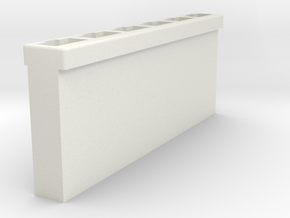 Cadillac 1959 light switch connector housing in White Natural Versatile Plastic