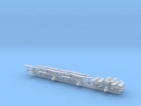 Supermarine Walrus x8 (WW2) in Smooth Fine Detail Plastic: 1:700