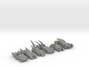 Batmobiles 220 scale in Gray PA12