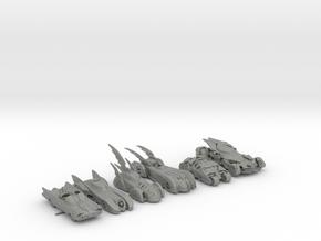 Batmobiles 220 scale in Gray Professional Plastic