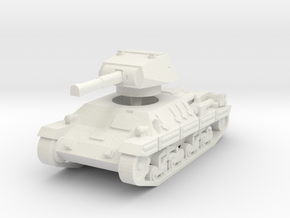 P-40 Heavy Tank 1/87 in White Natural Versatile Plastic