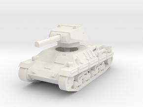 P-40 Heavy Tank 1/87 in White Natural Versatile Plastic