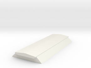7mm BIS PAA hopper top in White Natural Versatile Plastic