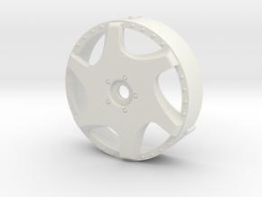 MST inserts Kranze Bazreia replicas in White Natural Versatile Plastic