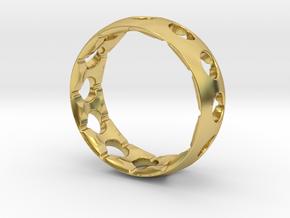 Original Aero Ring in Polished Brass