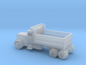 N Scale Dump Truck in Smooth Fine Detail Plastic