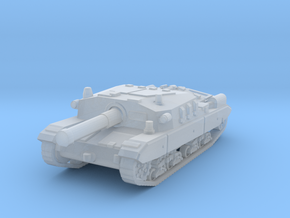 Semovente M43 105 1/200 in Smooth Fine Detail Plastic