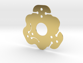 NicNac'3 | D in Polished Brass