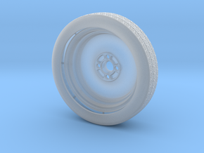 Spare Wheel (Complete) for Eaglemoss Delorean in Smooth Fine Detail Plastic