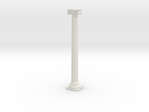 Column in White Natural Versatile Plastic
