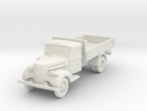 Ford V3000 early (open) 1/100 in White Natural Versatile Plastic