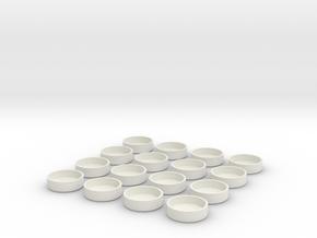 OldCaps in White Natural Versatile Plastic