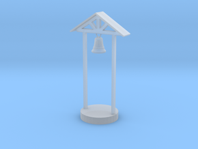 S Scale School Bell in Smooth Fine Detail Plastic