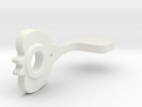 T6 Texan II Flap Handle #1 in White Natural Versatile Plastic