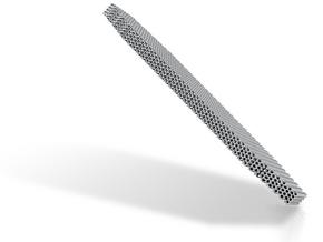 Carbon Seatbelt Impact Pad in White Natural Versatile Plastic