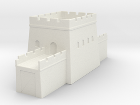 the grat wall of china 6mm 1/285  tower l  in White Natural Versatile Plastic
