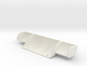 Mini-Z Mercedes Sauber C9 small rear wing in White Natural Versatile Plastic
