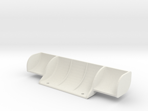Mini-Z Mercedes Sauber C9 big rear wing in White Natural Versatile Plastic