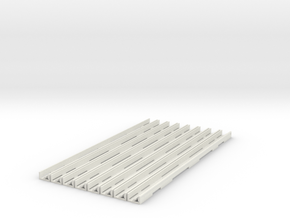 p-c200-inset-rail-base-pack in White Natural Versatile Plastic