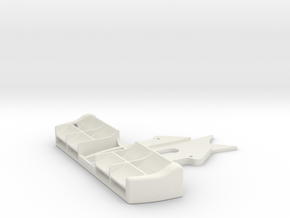 Mini-Z F1 front wing (for Kyosho chassis) in White Natural Versatile Plastic