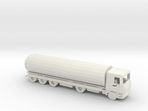 N Scale Tanker in White Natural Versatile Plastic