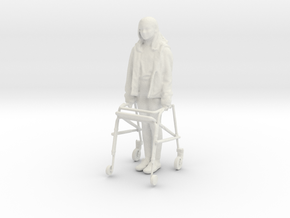 Printle C Kid 342 - 1/24 - wob in White Natural Versatile Plastic