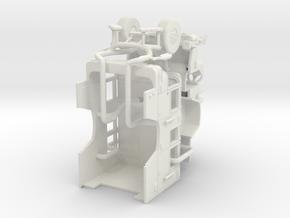 1/87 Pierce Quantum Aerialscope cab in White Natural Versatile Plastic