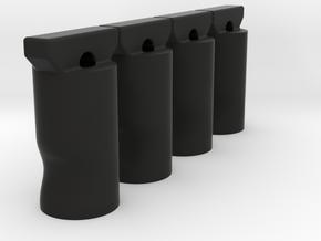 K4 low profile turn killkey 4pcs in Black Natural Versatile Plastic