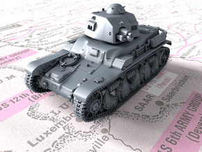 1/56 French Renault R35 (Char léger Modèle 1935 R) in Smooth Fine Detail Plastic